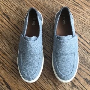 Toms Altair Slip On Drizzle Grey New